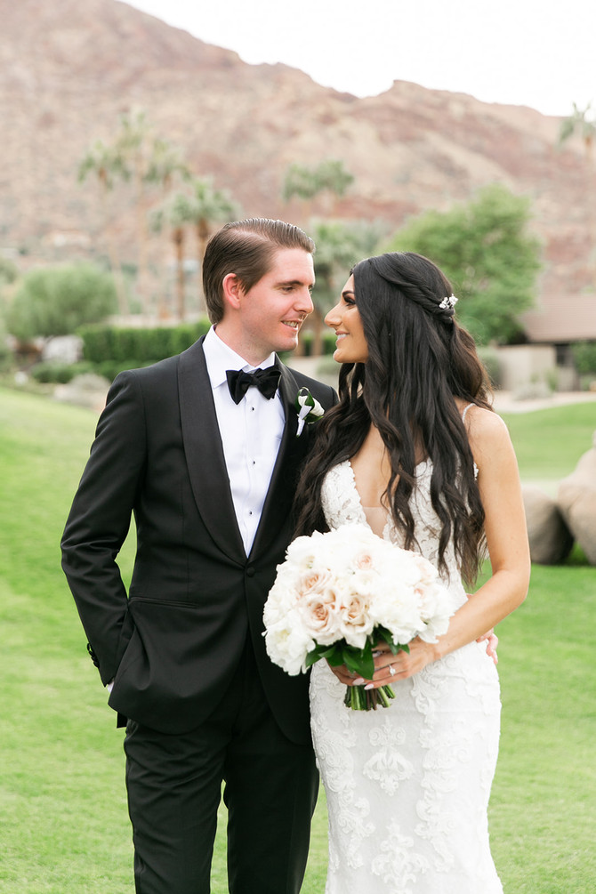 Kim and Tim's Modern Glam Mountain Shadows Wedding