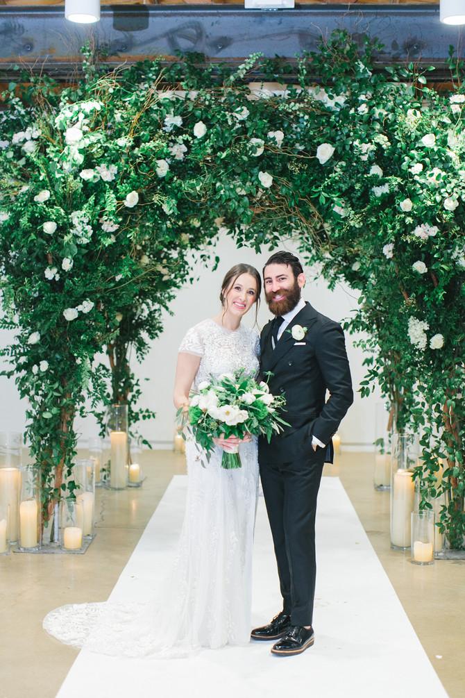 Emma + Danny's Clayton House Scottsdale Wedding