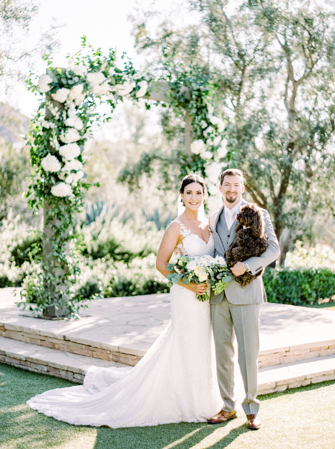 Kate and Evan's Classic Wedding with a Twist