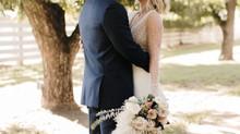 Kacey + Sam's Boho Wedding at The Farm at South Mountain