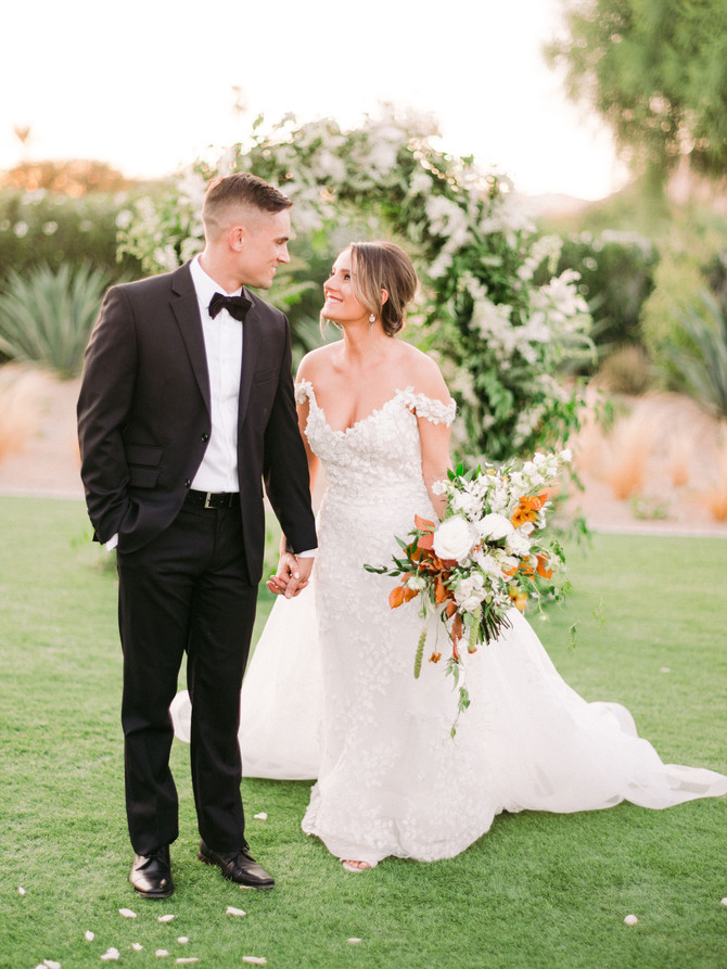 Andaz Resort Scottsdale- Alexia and Byron Elopement