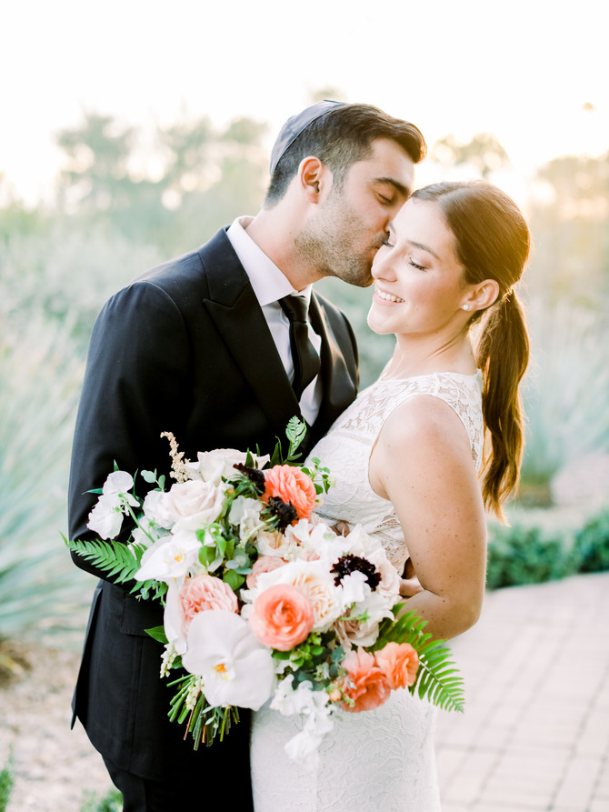 Alisa + David's Stunning Spring El Chorro Wedding