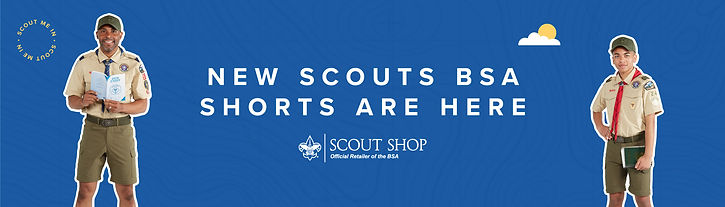 New Scouts BSA Shorts - Banner Graphic (