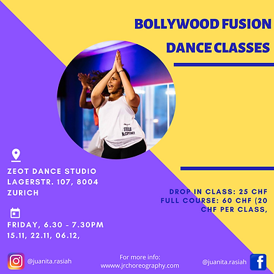 Zurich classes details