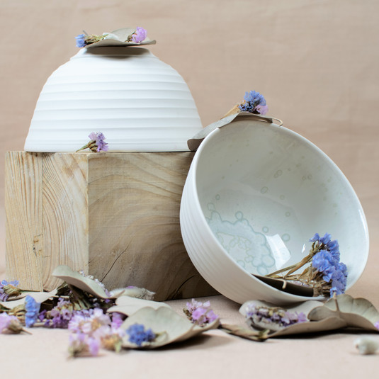 Bol à thé Les Rayées