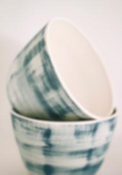 Romans sur Isère Poterie céramique céramiste artisanat artisanale porcelaine potière céramique artisanale bol contemporain épuré tourné