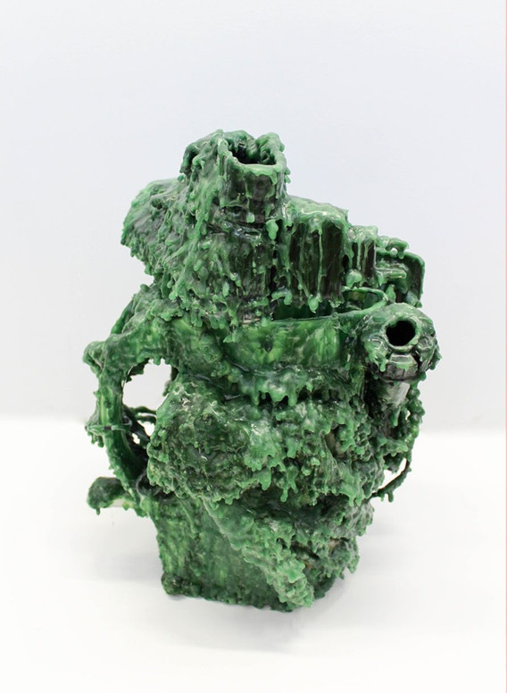 'Untitled (Green Wax)'