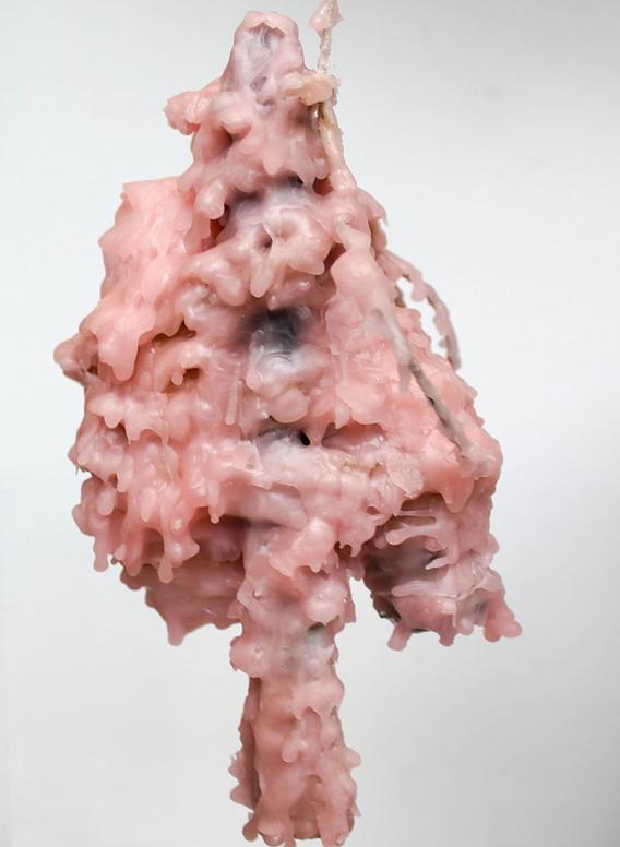 'Untitled (Pink Wax)'