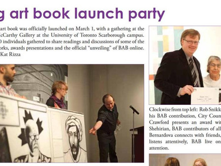 Launch - Big Art Book 2012