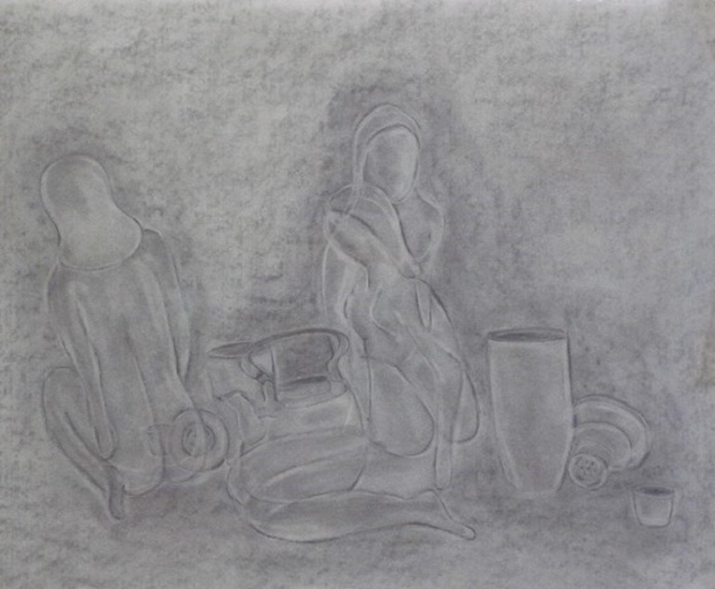 Matisse diptych 1 (2015)