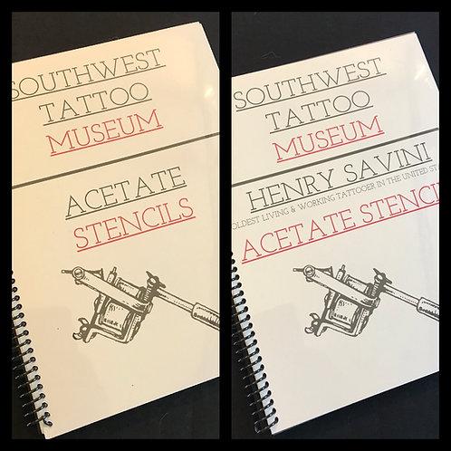 SWTM Acetate Stencil book pack