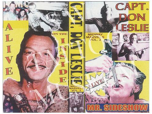 Capt. Don Leslie Poster Print