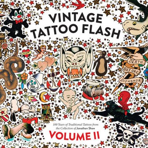 Vintage Tattoo Flash 2-Jonathan Shaw Collection