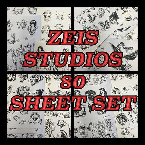 Zeis Studios 80 sheet set + FREE print!