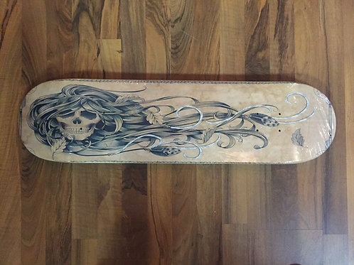 "Limited Edition ""The Hunter"" Skateboard by Charliegrrl"