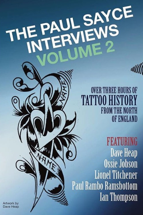 Paul Sayce Interviews Vol.2 DVD