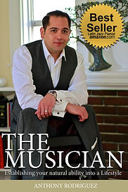 The Musician Book by Anthony Rodriguez