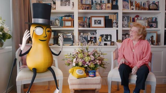 "Mr. Peanut presents ""Dr. Ruth's #CrunchTime Hotline"""