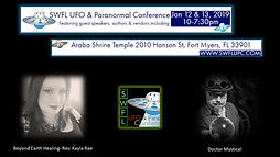UFO expo, DoctorMystical, eyond Earth Healin,SWFL, Florida, Paranomal Confernce