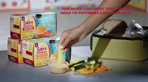 "Sabra Lunch Confessions: ""Even Makes Veggies Taste Good"""