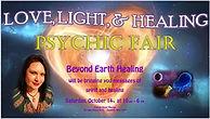 Love Light Heart Soul, Rev. Kayla Rae, BEH, Dunkirk, NY, Psychic fair, Healing fair
