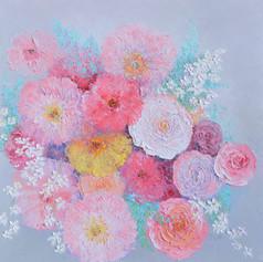 Thinking of You - Impasto Flowers