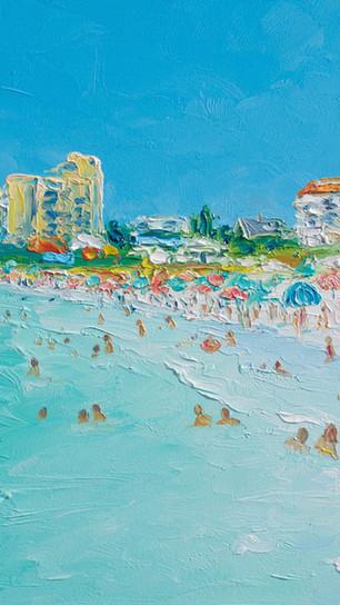 Clearwater Beach, Florida painting by jan matson.jpg