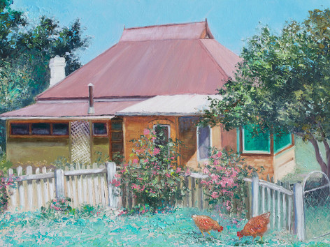 Captains Flat Cottage, New South Wales
