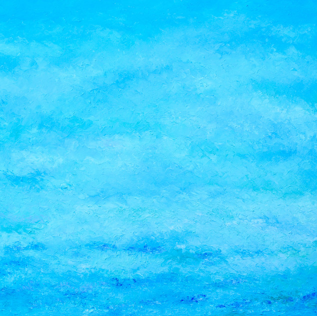 Abstract blue ocean