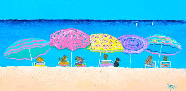 Beach Painting, Beach sands, perfect tan