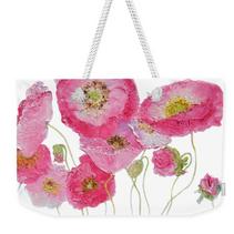 Weekender Bag with poppies design