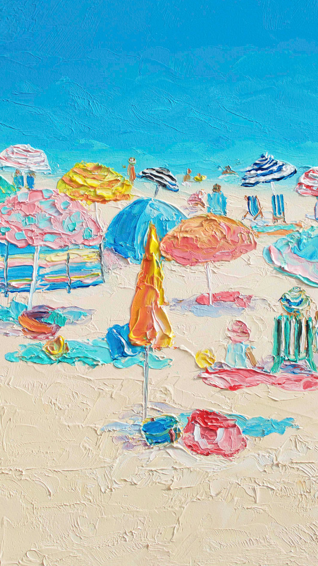 BEACH PAINTINGS