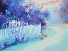 Early Autumn Light - original and print available