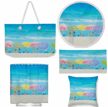 Color of Summer Beach Products