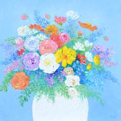 Amour - Flowers Impasto