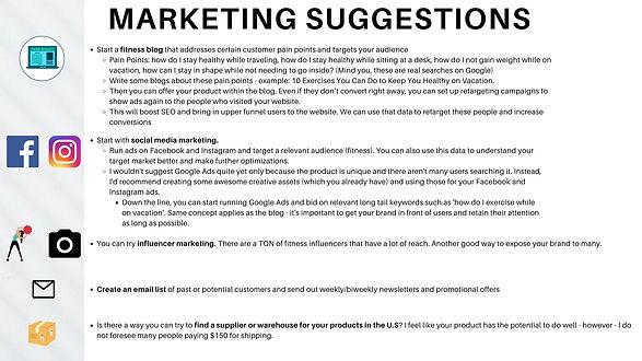 Fitness Brand - Web Analysis and Marketi