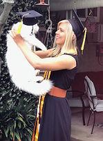 Amanda Charleston Graduation