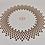 Thumbnail: Table basse avec motif en relief