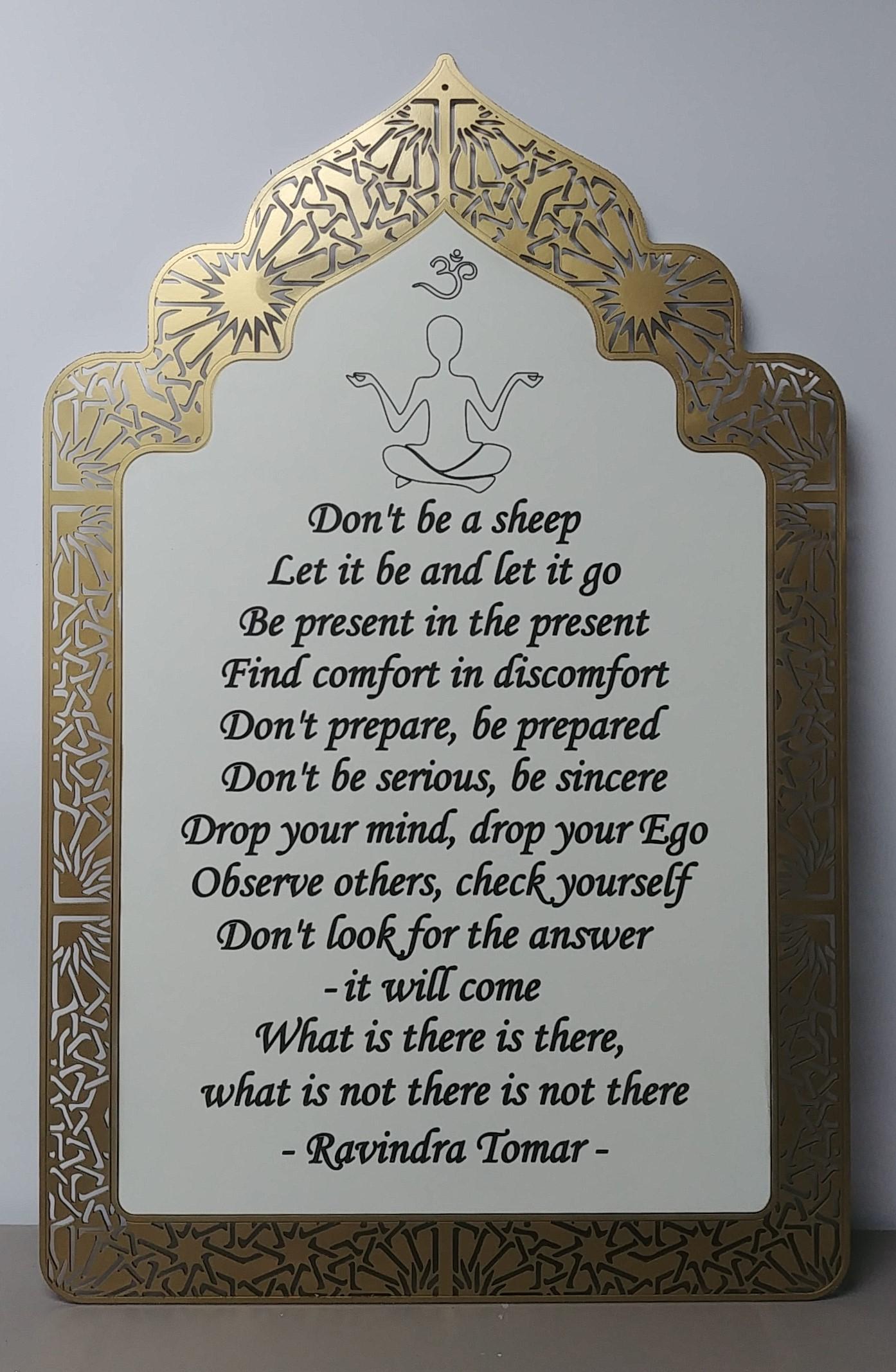 Ravi's quote