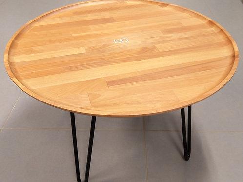 Table basse creusée