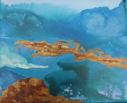 Azul islas cobre