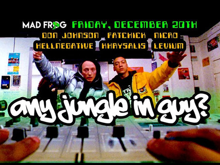 12/20/2019 - Cincinnati, OH - Any Jungle in Guy