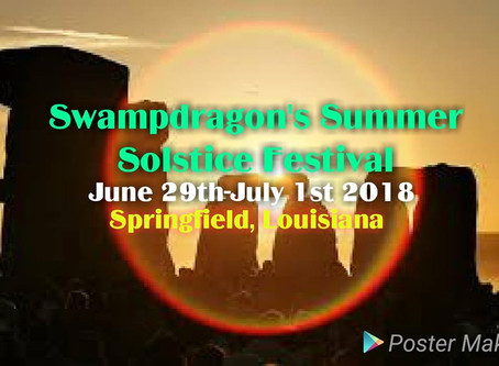 06/29/2018 - Springfield, LA - Swampdragon Summer Solstice Festival