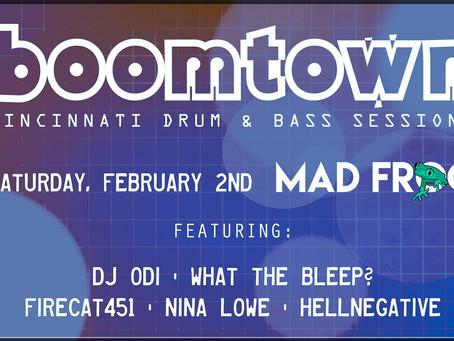 02/02/2019 - Cincinnati, OH - Boomtown