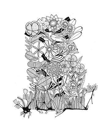 Ink Garden 003