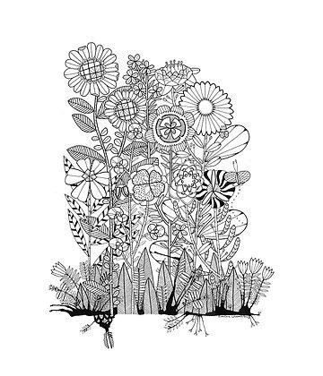 Ink Garden 004