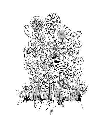 Ink Garden 002