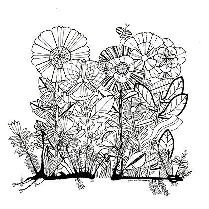 Baby Ink Garden 3 PK - 001