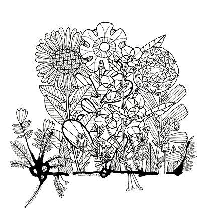 Baby Ink Garden 3 PK - 002