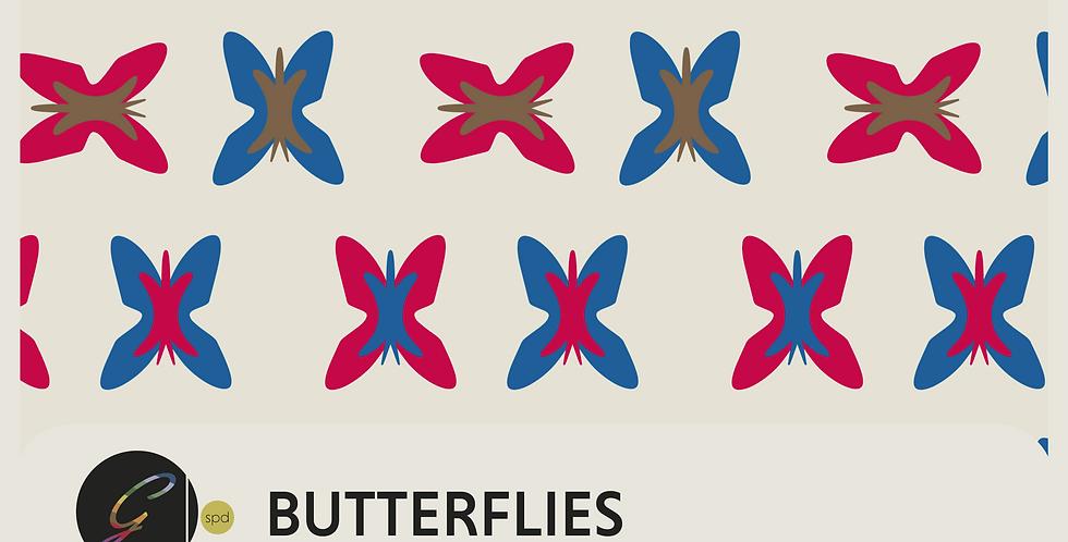 BUTTERFLIES - PATTERN
